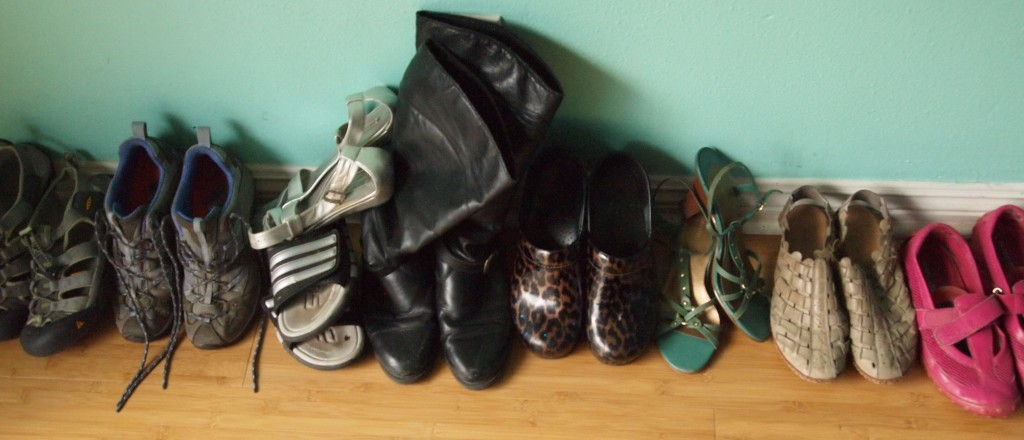 all of my shoes