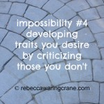 (im)possibility thinking #4