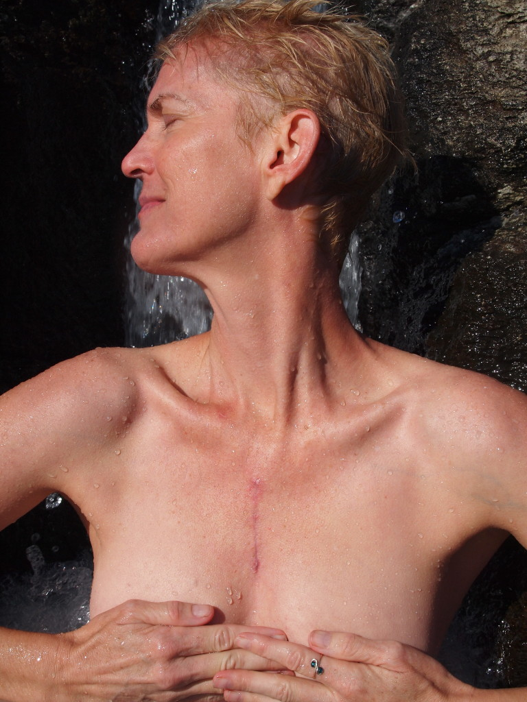 waterfall scar #bodycatalog Project by Ken Crane