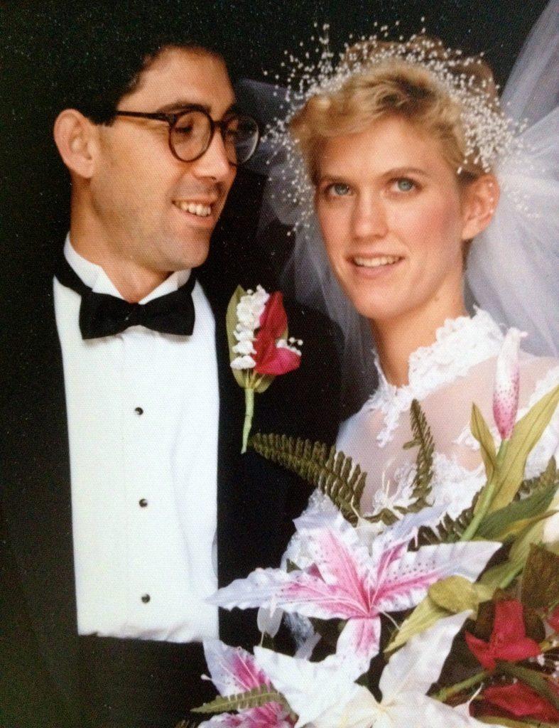 Ken Crane & Rebecca Waring-Crane, September 1, 1986