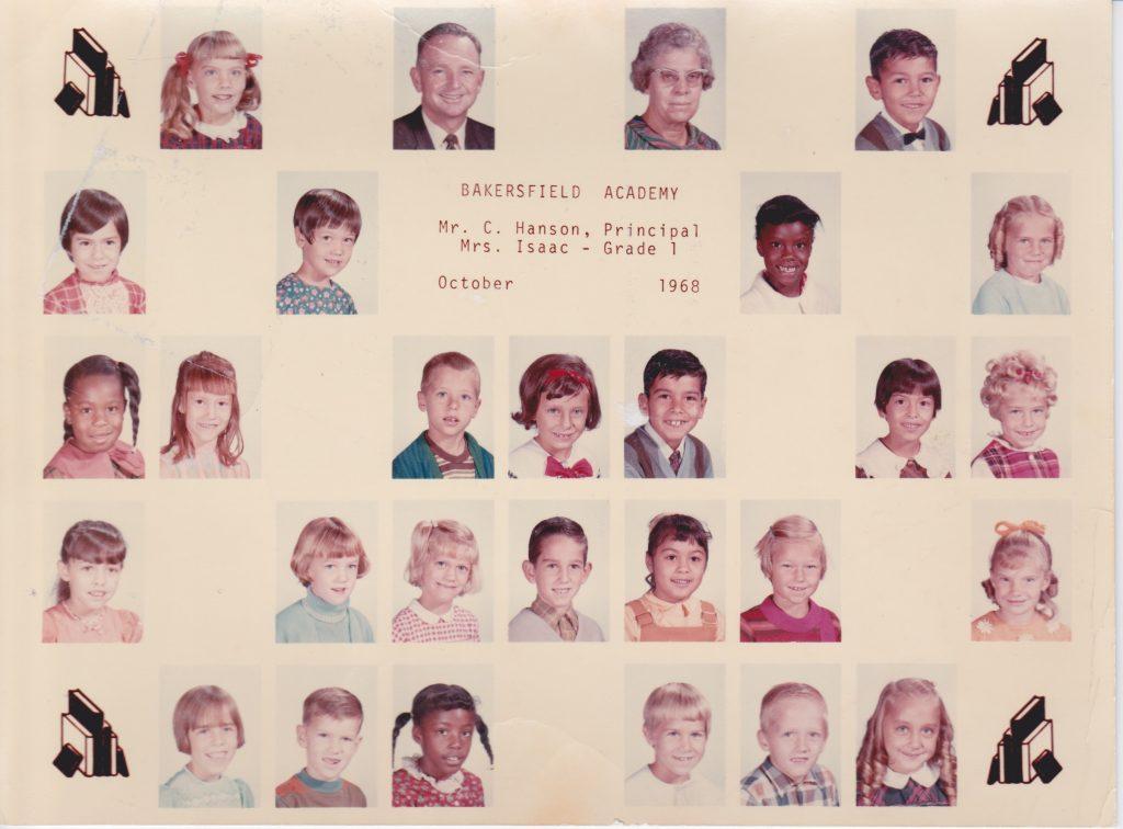 1st grade classphoto