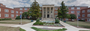 Morrison Hall: the men's dormitory where I grew up.